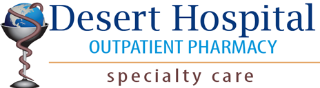 Desert Hospital O.P. Pharmacy Logo